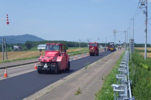 一般国道333号 遠軽町 安国舗装補修外一連工事