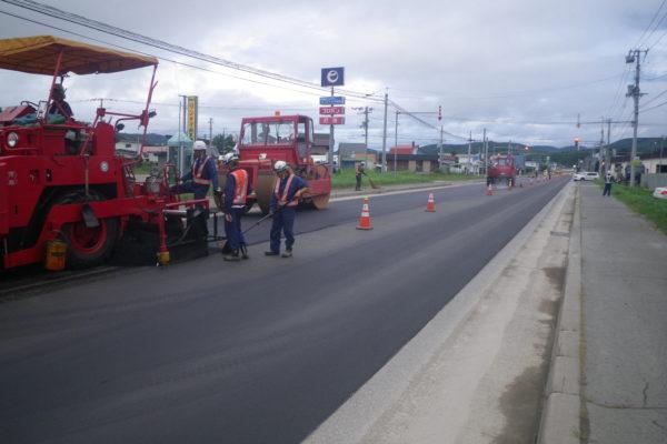 一般国道39号  北見市  旭北舗装修繕外一連工事