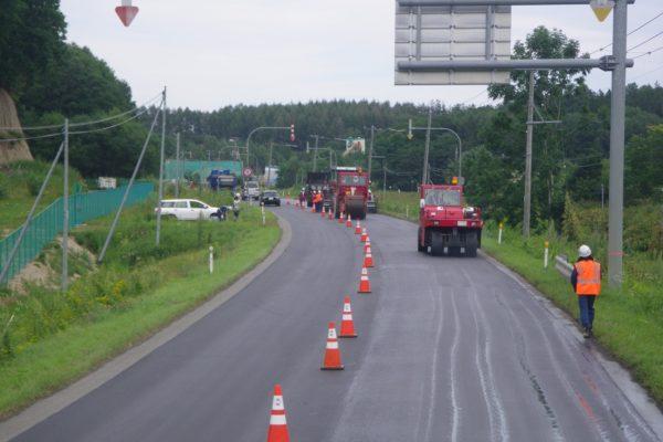 一般国道39号  北見市  端野舗装修繕外一連工事