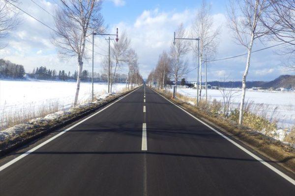 一般国道243号  美幌町  稲美交差点舗装外一連工事