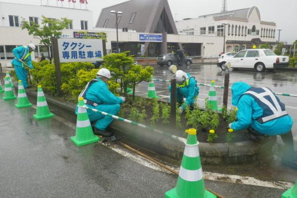 平成28年度 JR北見駅前花壇の植栽と花壇整備 感謝状